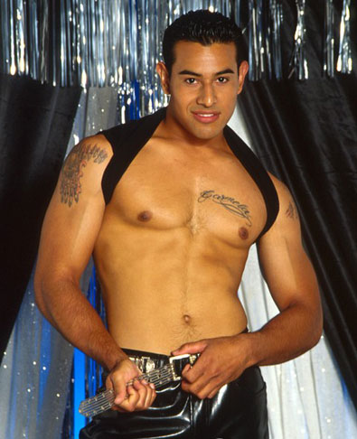 latino gay model